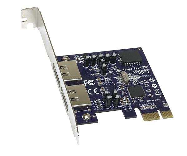 Tempo SATA E2P (2-Port SATA Controller Card)
