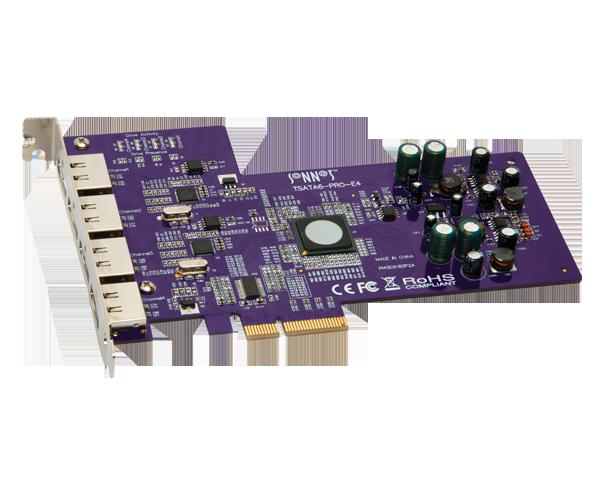 Tempo SATA Pro 6Gb 4-Port (SATA Controller Card)