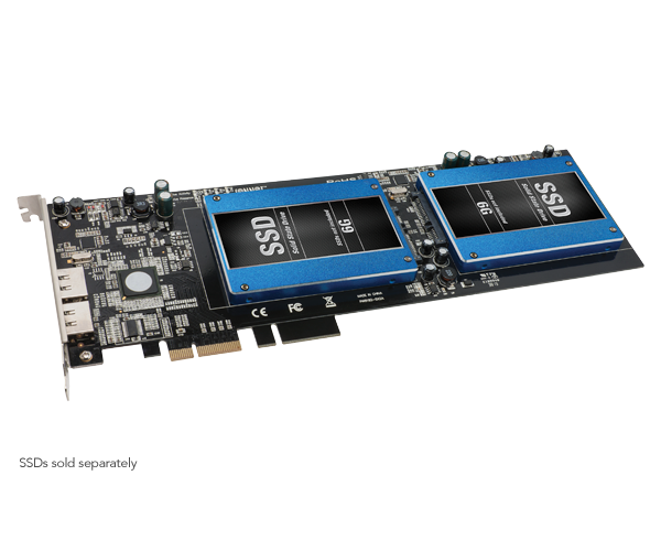 Tempo SSD Pro Plus (6Gb/s SATA PCIe Card+eSATA Ports for SSDs)